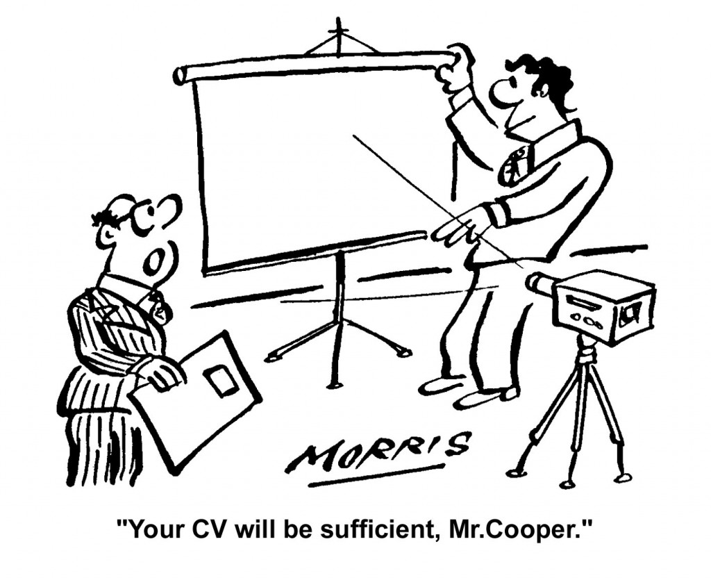 CV presentation