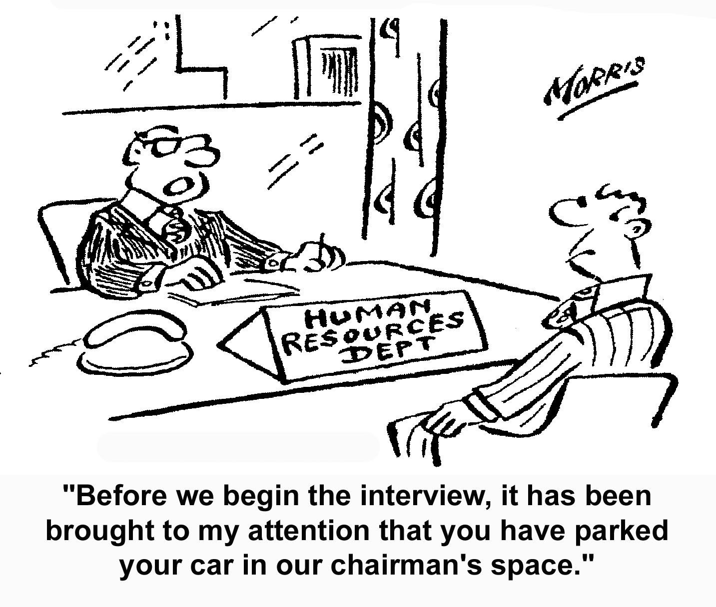 interview-parked-chairmans-space