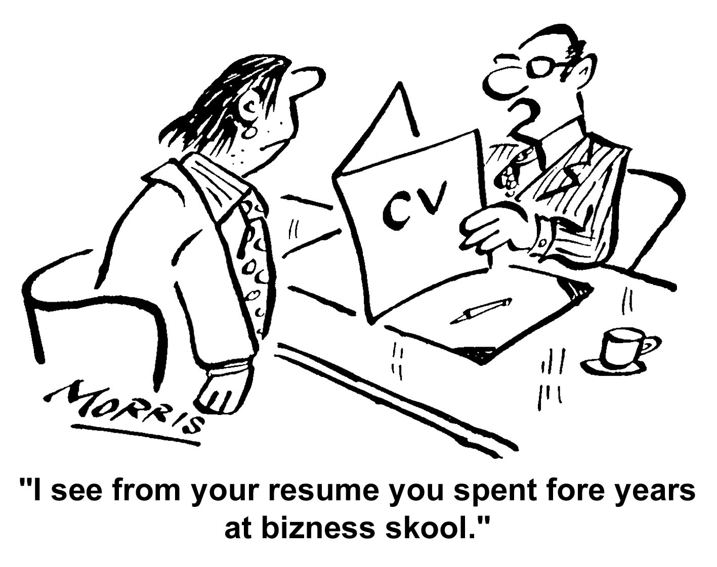 what recruiters don t want to see in a cv or resume the cv store blog Territory Sales Representative Cover Letter spelling errors