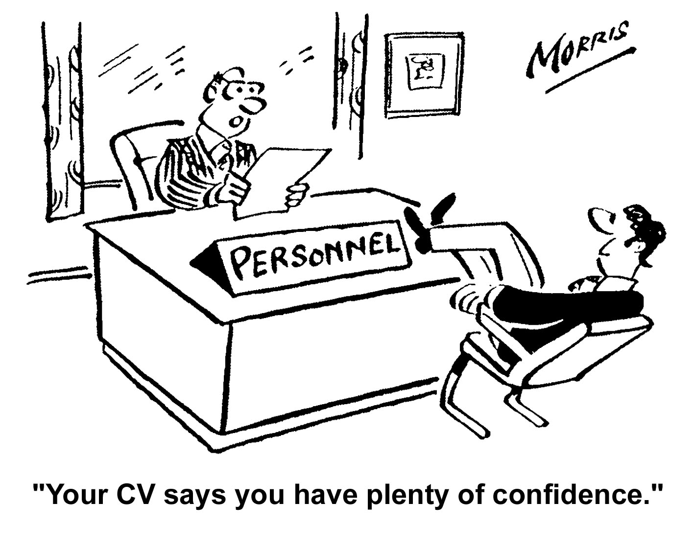 cv interview confidence