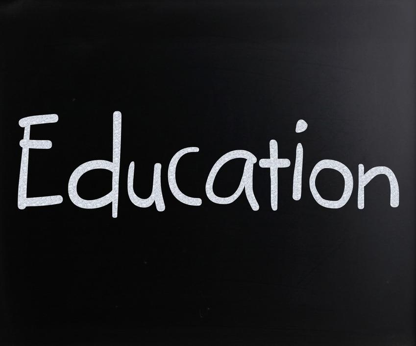 education on blackboard